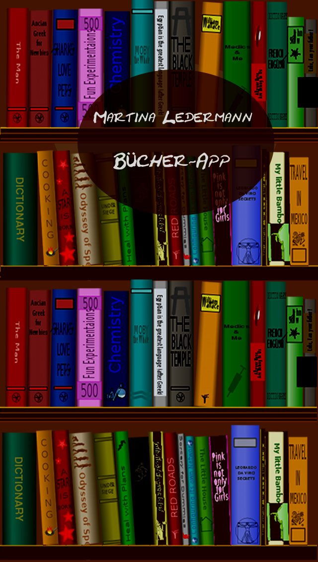 B�cher-App von Martina Ledermann, Autorin